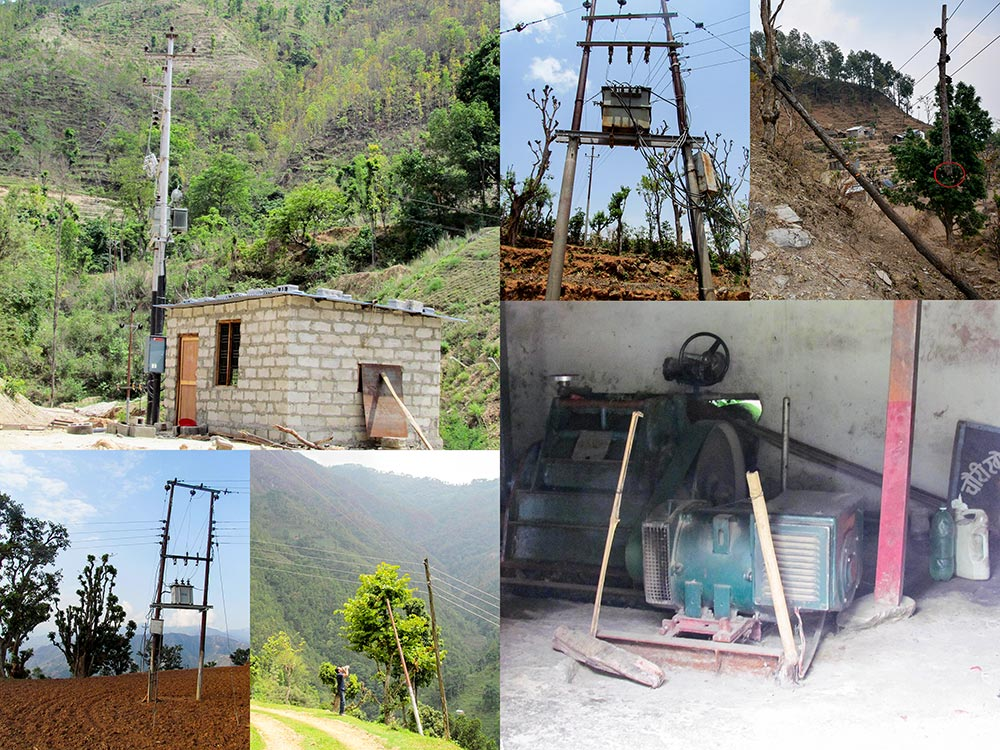 Restoration and rehabilitation of community electricity in Gorkha, Dhading, Kavre and Lalitpur