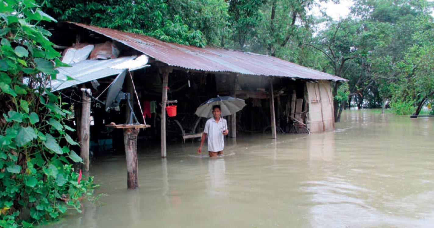Risk nexus learning from 2014 Karnali flood