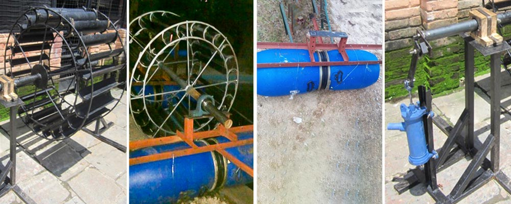 Water Driven Water Lifting System for Irrigation