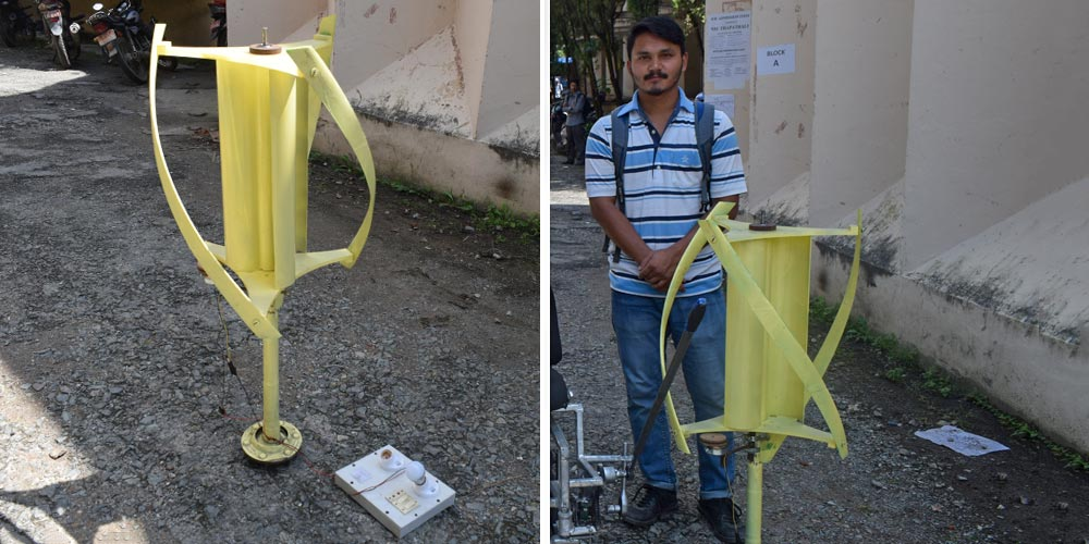 Highway-based Vertical Axis Wind Turbine