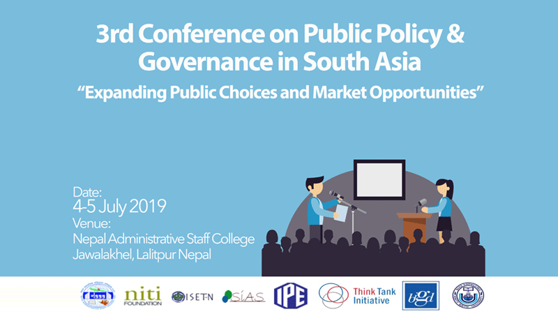 3rd Conference on Public Policy and Governance in South Asia: Call for Abstracts