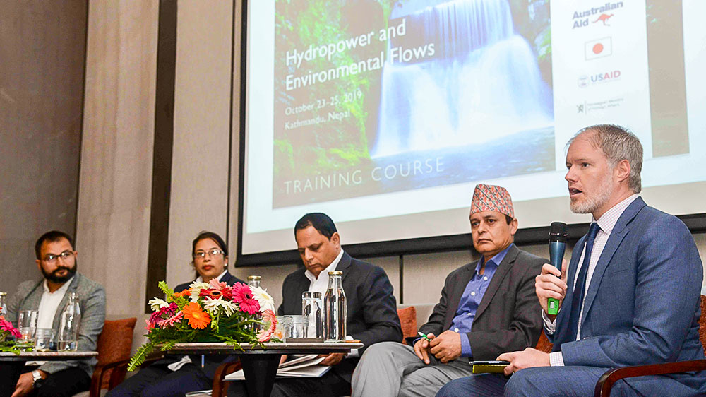 ISET Nepal - Hydropower and Environmental Flows Training Workshop, 23-25 October 2019