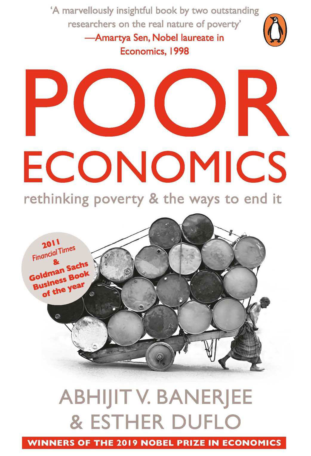 Book Title:Poor Economics: rethinking poverty & the ways to end it