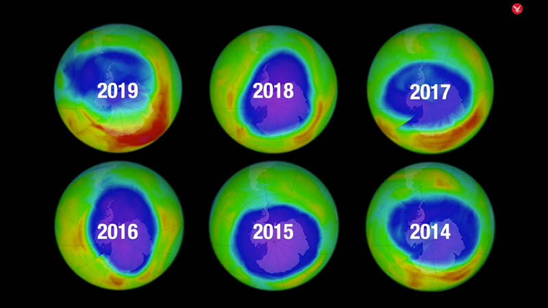 The ozone layer is healing, new study finds