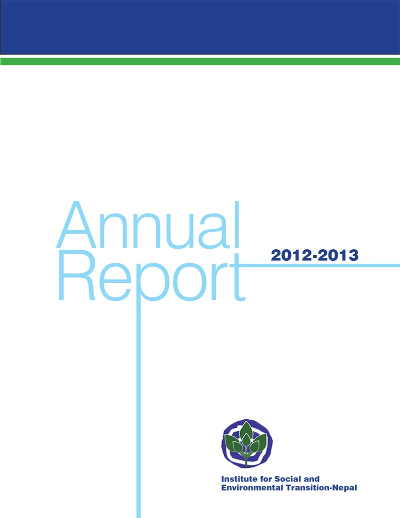 ISET Nepal Annual Report 2012-2013