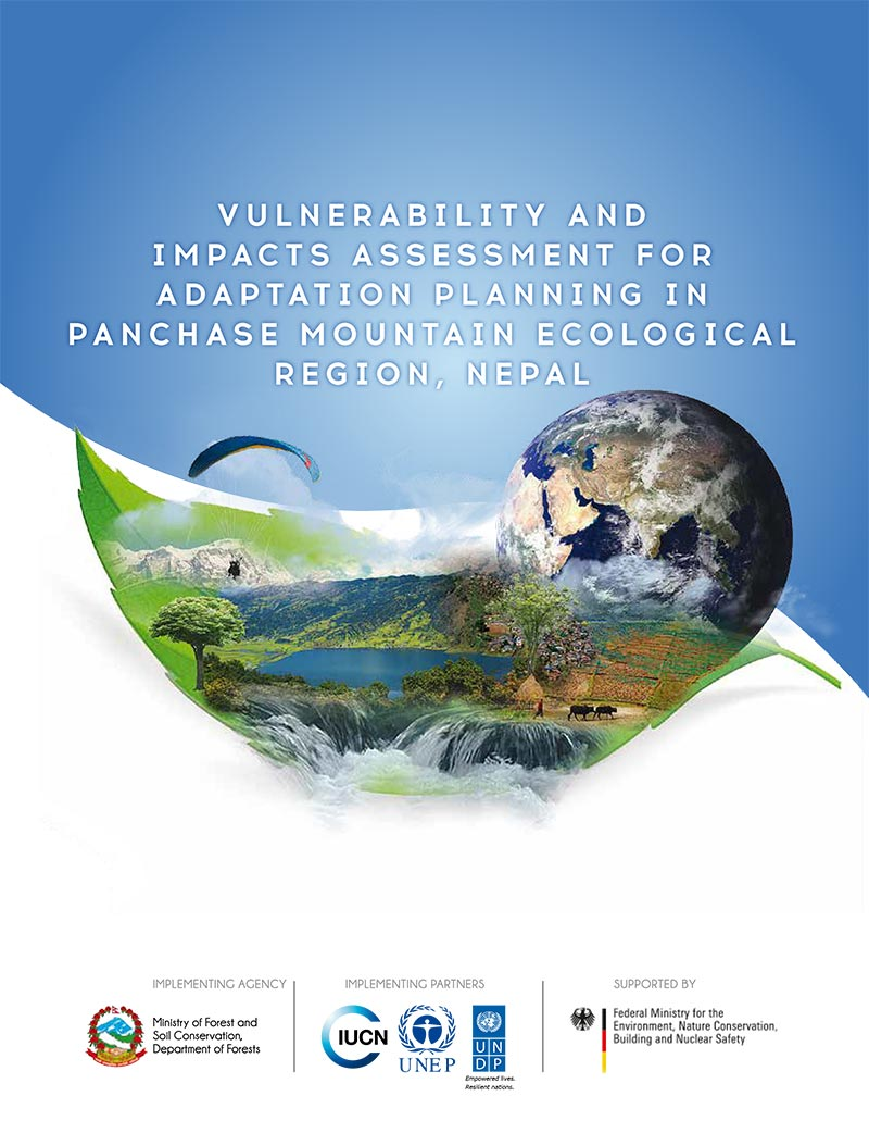 Vulnerability and Impacts Assessment For Adaptation Planning In Panchase Mountain Ecological Region, Nepal